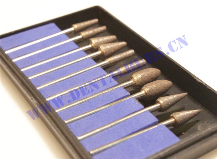 Galvanized HP Diamond Burs Series