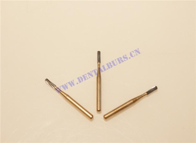 FG Carbide Burs (FG1558 with Titanium Layer)