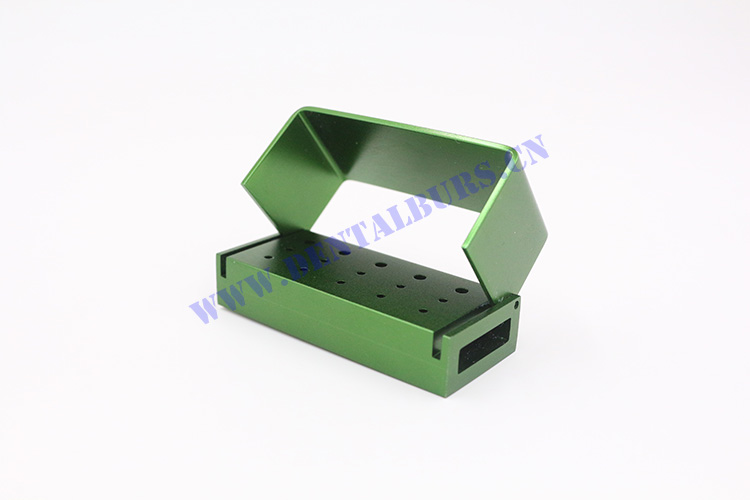 Burs Box with 15 Holes(Green)