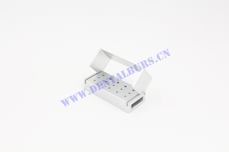 Burs Box with 15 Holes(Silver)
